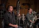Donald Foster and Stuart Clark play woodwinds