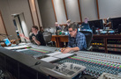 Orchestrator Stephen Coleman and recording mixer Tom Hardisty