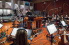 Composer/conductor Ramin Djawadi cues the cello section