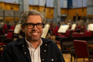 Composer John Powell poses for a photo at Abbey Road Studios