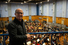 Producer Brad Lewis at Abbey Road Studios
