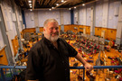 Director Dean DeBlois at Abbey Road Studios