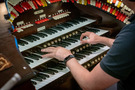 Aaron Shows performs on the Fox Wurlitzer organ