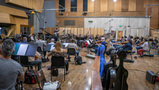 David Newman conducts the Hollywood Scoring Symphony on <em>Green Eggs and Ham</em>