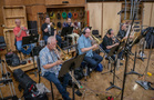 The brass section performs on <em>Green Eggs and Ham</em>