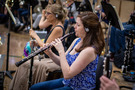 Jennifer Cullinan performs on the oboe