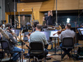 David Newman cues the French horns
