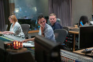 Orchestrator Jennifer Hammond, scoring mixer Noah Snyder, and music editor Bryan Lawson