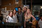 Disney music executive Kaylin Frank, scoring contractor Gina Zimmitti, singers Nate Rocket Wonder and Roman GianArthur, and scoring contractor Whitney Martin