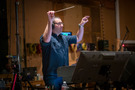 Composer/conductor Christopher Lennertz performs