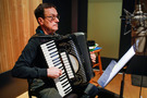 Accordionist Nick Ariondo performs on <i>Toy Story 4</i>