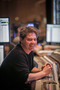 Scoring mixer Dave Boucher