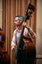 Steve Dress performs on bass