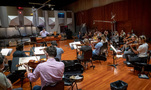 Jeff Russo conducts his score to <em>Treadstone</em> at Warner Bros.