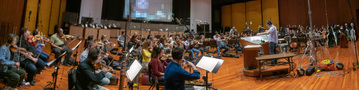 Jeff Russo conducts his score to <em>Treadstone</em>