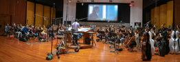 Jeff Russ conducts the Hollywood Studio Symphony