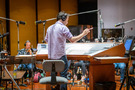 Jeff Russo conducts on <em>Treadstone</em>