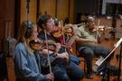 The violins perform on <em>Treadstone</em>