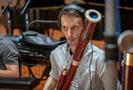 Jon Stehney performs on bassoon