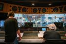 Music producer Peer Åström and score engineer Steve Bishir
