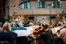 Erik Arvinder leads the strings at Air Studios