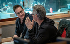 Additional music composer and orchestrator Miles Hankins with composer Marco Beltrami