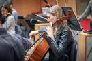 A cellist performs on <em>A Quiet Place Part II</em>
