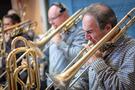 Trombone player Alan Kaplan